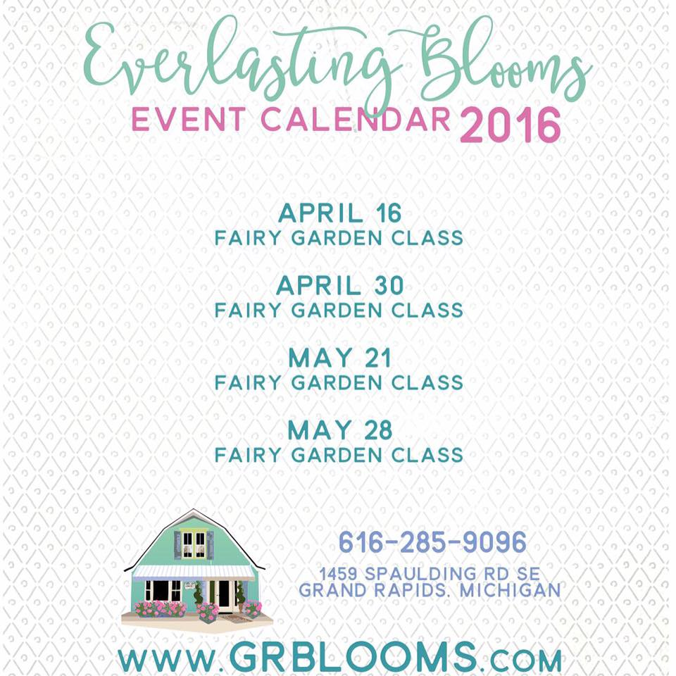 Fairy Garden Classes 2016