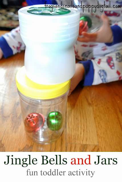 Jingle Bells and Jars-great for fine motor skills and fun music maker by FSPDT