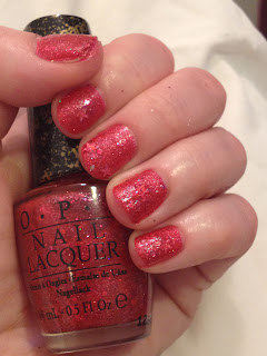 OPI, OPI Liquid Sand Collection, OPI Liquid Sand Mariah Carey Collection, OPI Liquid Sand The Impossible, OPI Liquid Sand Nail Polish, OPI The Impossible, nail, nails, nail polish, polish, lacquer, nail lacquer, OPI nail polish, OPI nail lacquer, mani, manicure, Valentine's Day