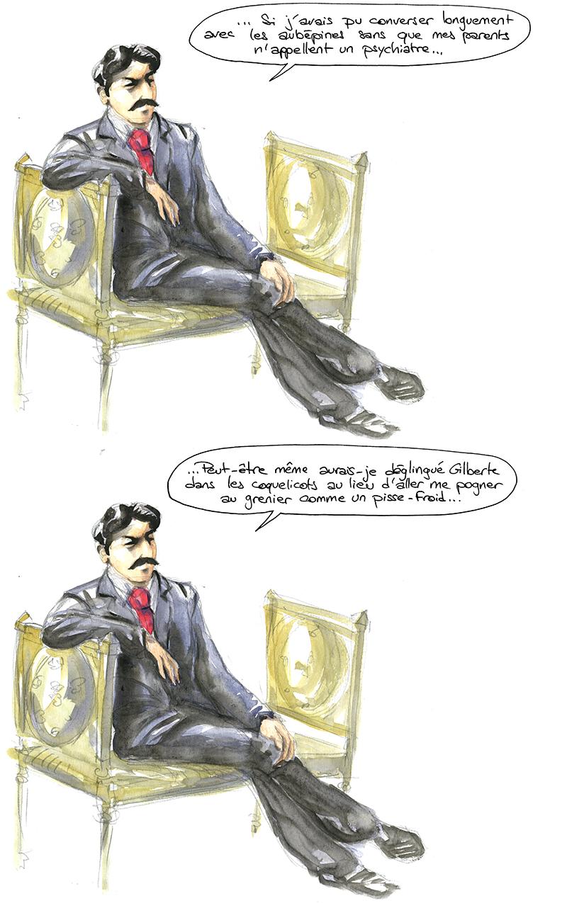 Proust animiste, Anent Nouvelles des indiens jivaros