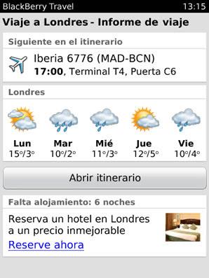 BlackBerry Travel