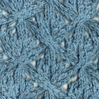 Knitting Stitch Knot : Knot Knecessarily Known Knitting: Reversible Lace