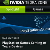 PlayStation Games coming to Tegra 2 devices