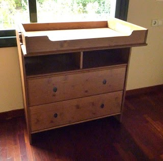 El taller de cayetana reciclaje de comoda cambiador - Mueble cambiador ikea ...