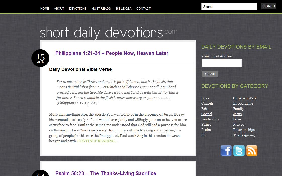 Daily devotions for dating couples