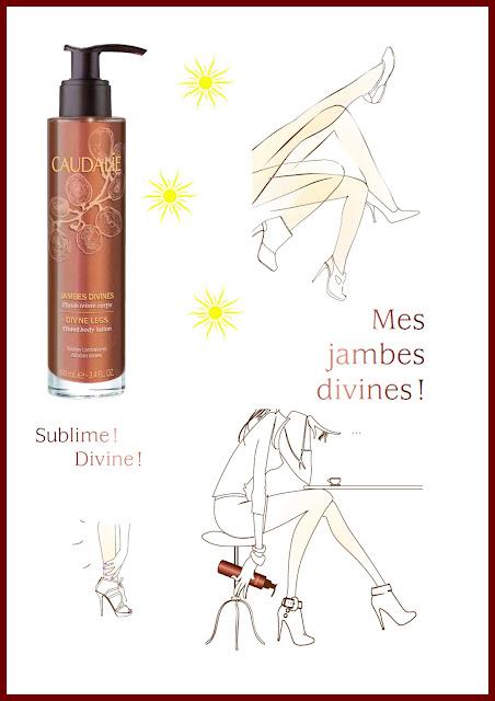Blog Beauté Beauty Test Produit Caudalie Bronzage Eté Sun Soleil Jambes Divines Fluide Teinté