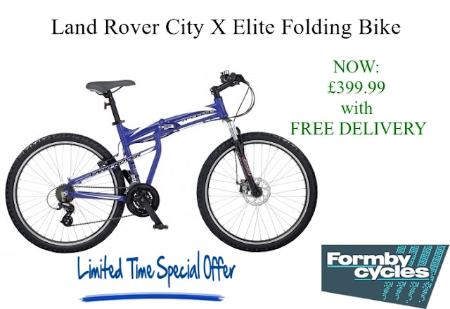 Folding Bike: Land Rover City X Elite