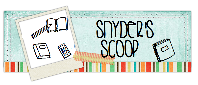 <i><big><b>Snyder&#39;s Scoop</b></big></i>