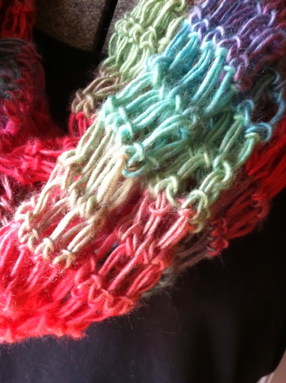 A Southern Lady\'s Ramblings: New Scarves Free Crochet Pattern
