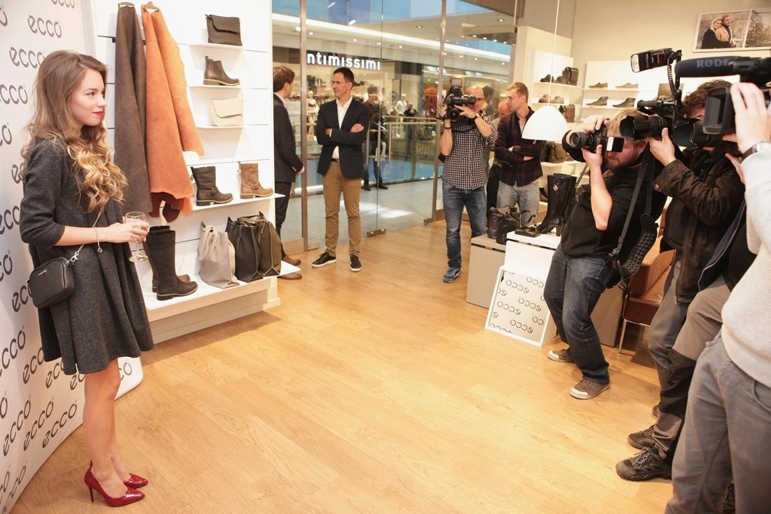 Otwarcie pierwszego na świecie salonu Ecco Leather Goods w Krakowie