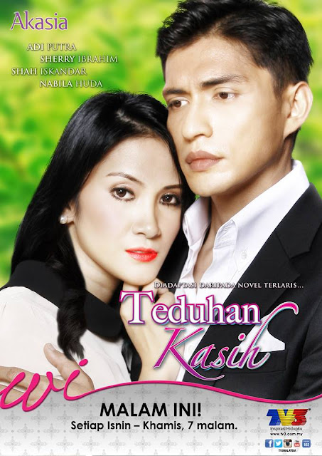 Slot Akasia TV3, Teduhan Kasih, Novel, Sinopsis, OST,