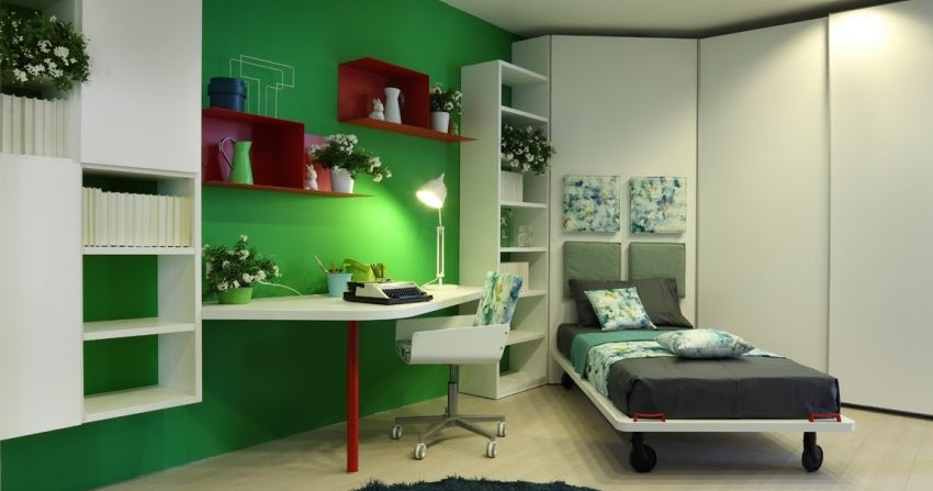Dormitorios - Dormitorio verde ...