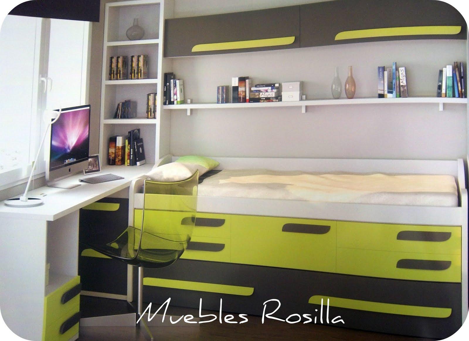 Muebles rosilla herv s como organizar la zona de estudio for Zona de estudio
