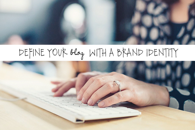 How to define your blog with a brand identity. Indie Business tips from Lesley Myrick Art + Design.