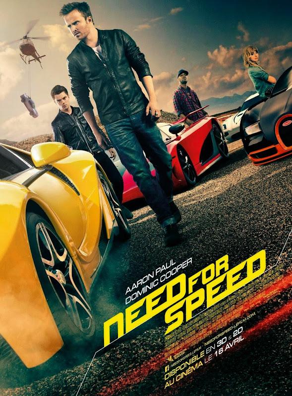 ตัวอย่างหนังใหม่ : Need For Speed (ซิ่งเต็มสปีดแค้น) ตัวอย่างที่ 2  ซับไทย poster