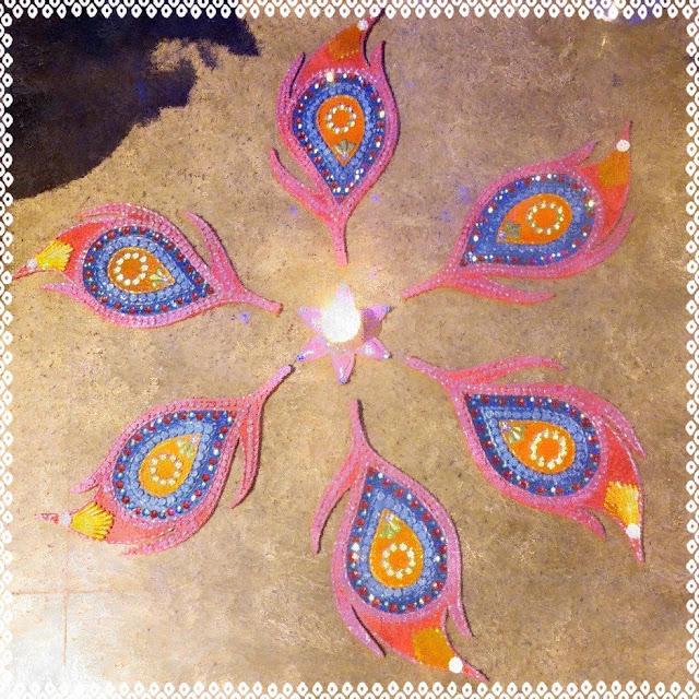 Dhanteras Rangoli Design 9