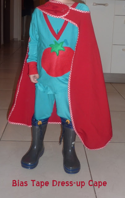 how to make a tomato costume
