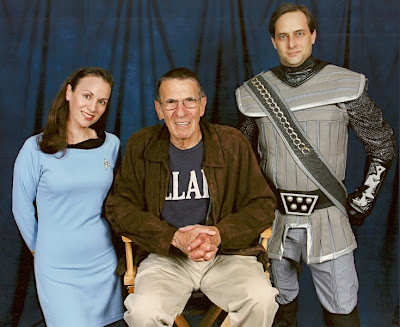 Heather, Leonard Nimoy & Garet