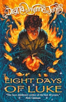 eight days of luke by diana wynne jones book cover
