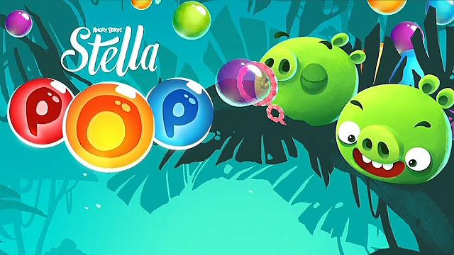 Angry Birds POP Bubble Shooter v1.7.4 Apk Mod [Dinero]