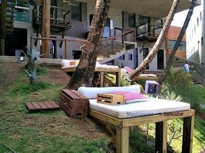 Blue Praia Bar: Ambiente