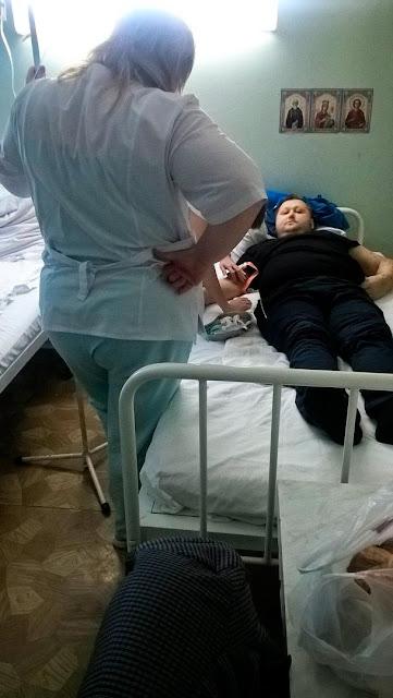 Андрей Дольников в Районной больнице Сергиева Посада