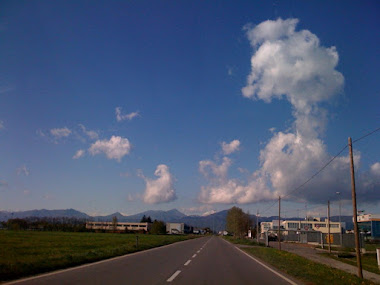 Bolgare visto da via provinciale est