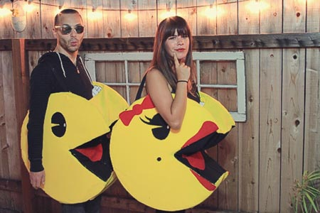 Mr and Mrs. Pacman