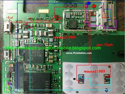 Nokia X3-00 Display And Keypad Light Jumper Solution