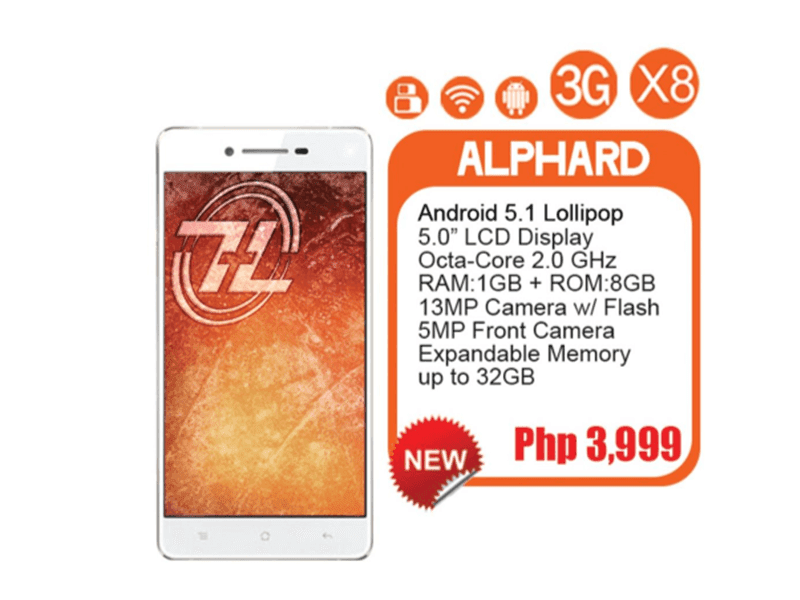 ZH&K ALPHARD ANNOUNCED! OCTA CORE, ANDROID 5.1 FOR 3,999!