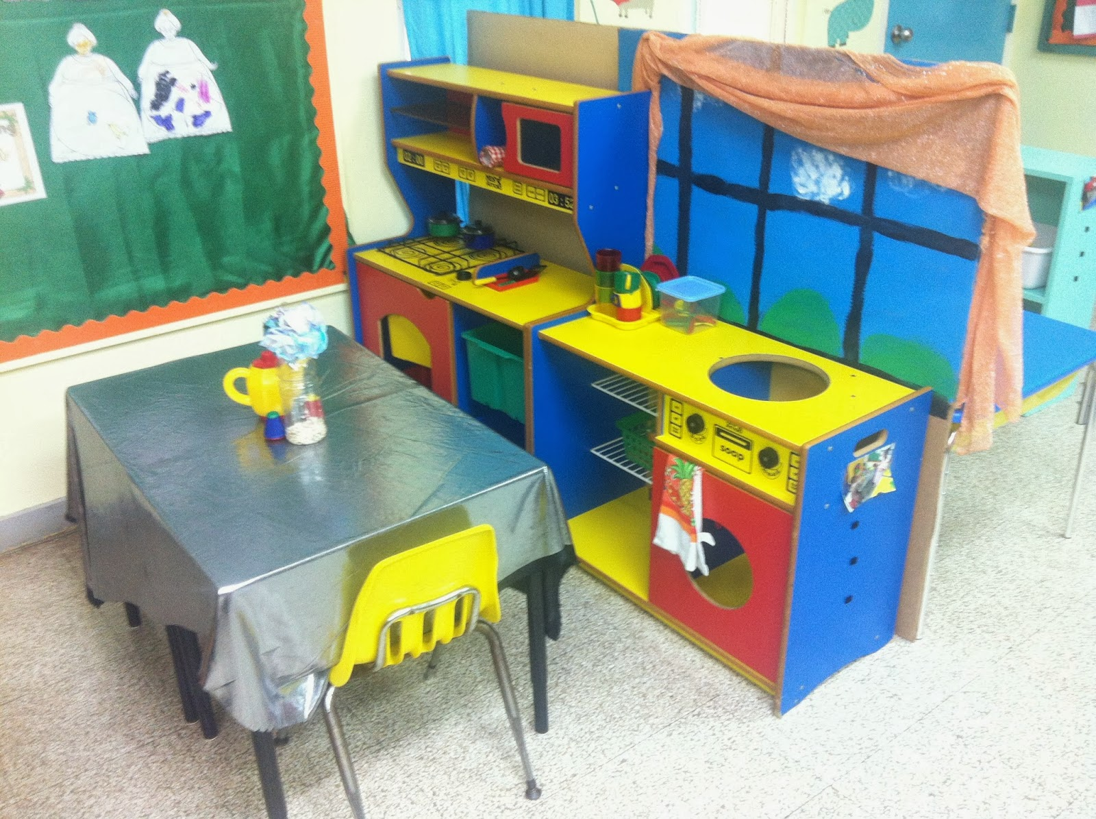 Classroom environment sjacps reception - Kitchen and dining area design crossword ...