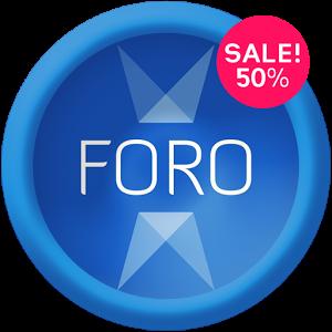 Android ဖုန္းထဲမွာဒီဇိုင္းဆန္းတဲ့ Icon ေလးမ်ားကို အသံုးျပဳနိုင္မယ့္ -Foro - Icon Pack v2.1.1 APK