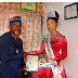 COUNTDOWN!! Nigeria's Delegate and Miss Tourism International, Rita Oguebie Visits Pageant Association Secretary General Ahead Of Foreign Contest! (Photos)