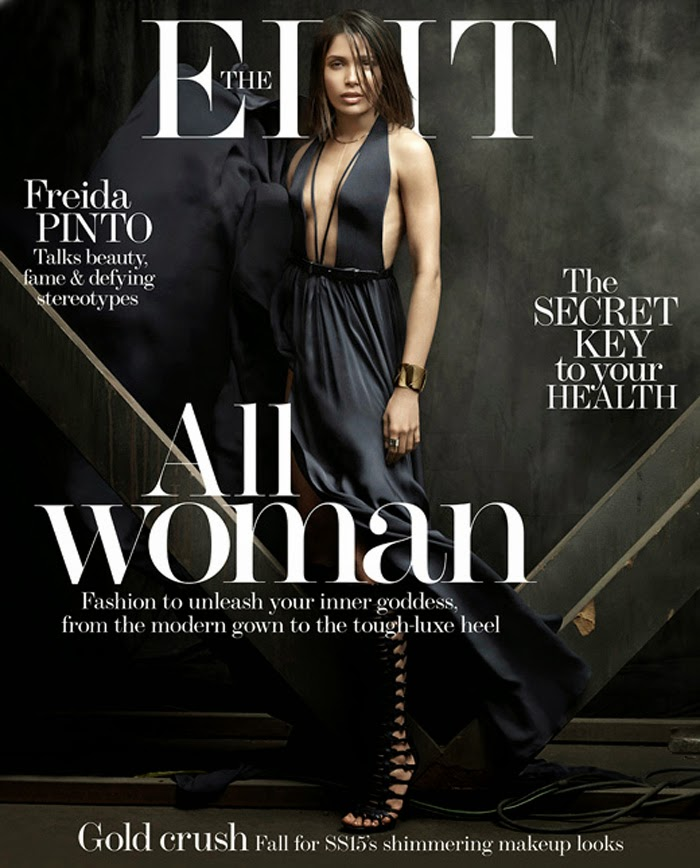 Actress, Model @ Freida Pinto Is 'A Woman of Now' By Chad Pitman For The Edit April 2015