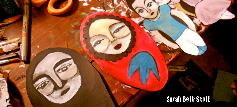Artist Sarah Beth Scott