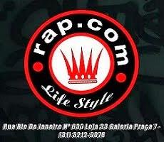 """""""RAP.COM """" - Rua Rio De Janeiro Nº 630 Loja 33 Galeria Praça 7 BH - (31) 3212-9076"""