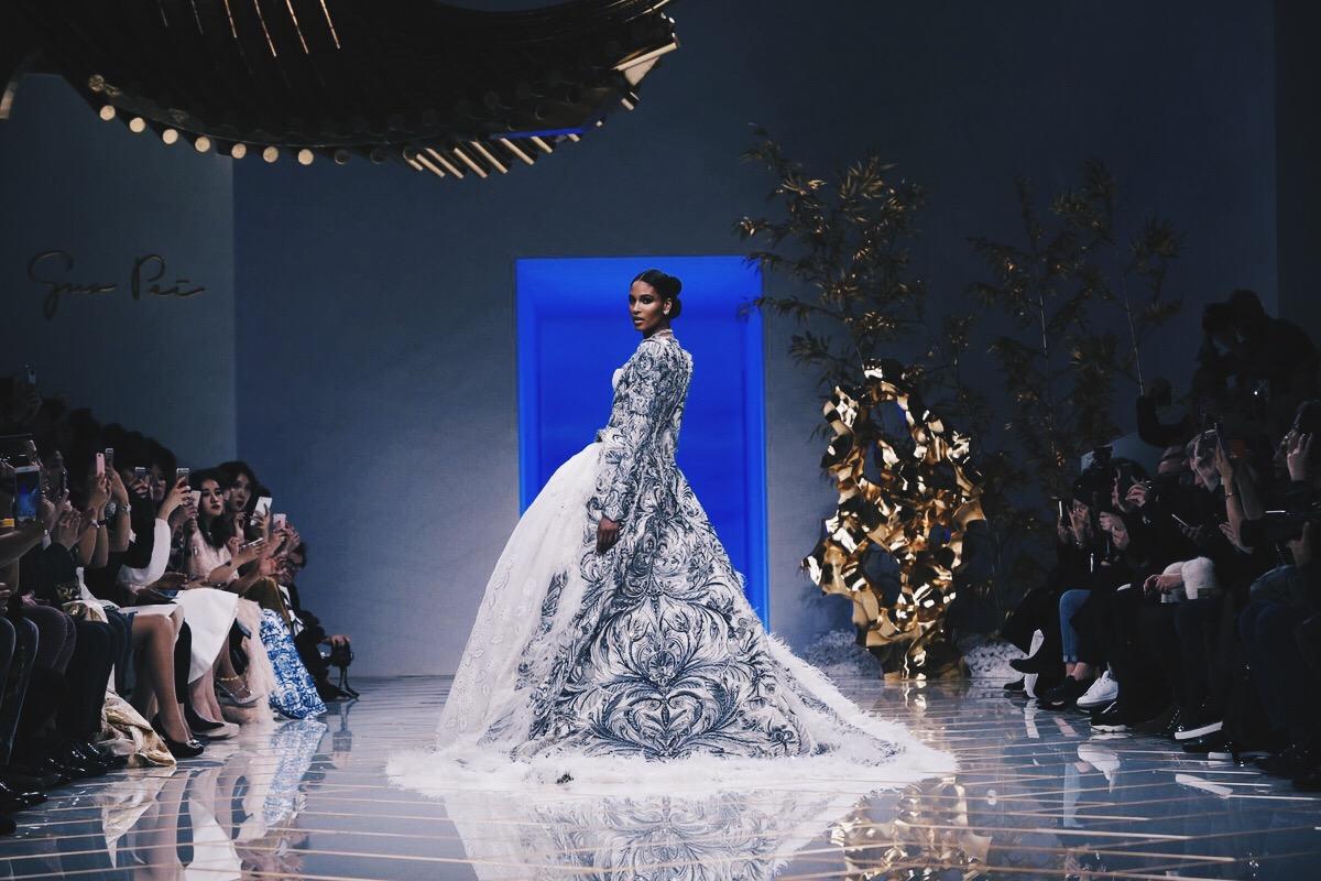 Ana Maddock- Guo Pei Paris Haute Couture Fashion Week SS16