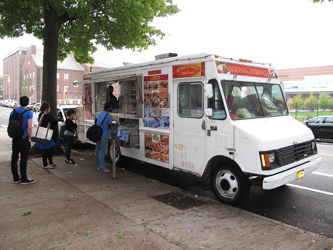 Buona Journata Food Truck At The Brooklyn College Lamb Gyro