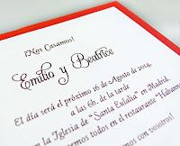 invitación de boda cardnovel Referencia  32814