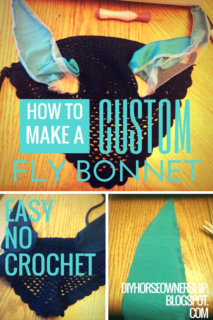 How To: Make a Custom Ear Fly Bonnet – The Easy No Crochet Way – DIY ...