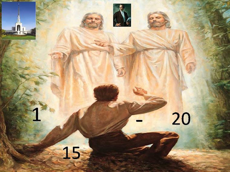 JOSEPH SMITH HISTÓRIA 1:15-20