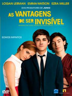 As Vantagens de Ser Invisível DVD R Capa