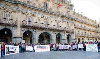 Concentración Día de Acción Mundial por la Salud de las Mujeres en Salamanca