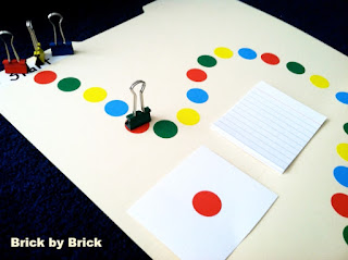 DIY Board Game (Brick by Brick)