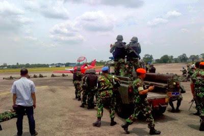Pendaratan paksa pesawat asing. Prokimal Online Kotabumi Lampung Utara