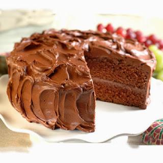 Tendre et moelleux gâteau au chocolat