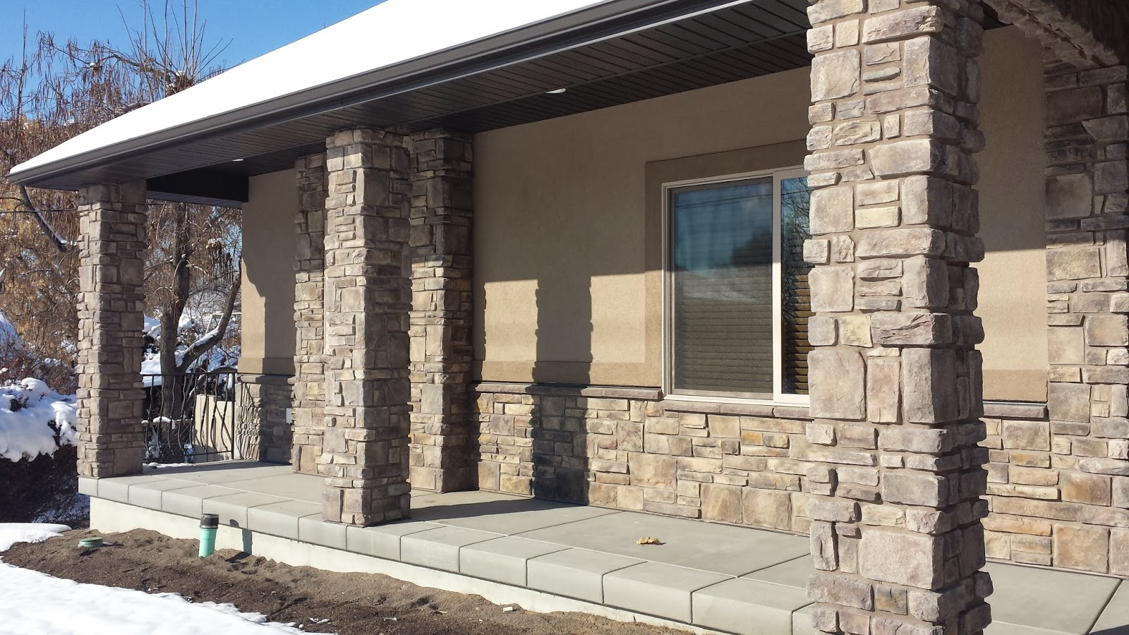 Stucco tech just right homes jrh in pleasant grove for Stucco and siding combinations