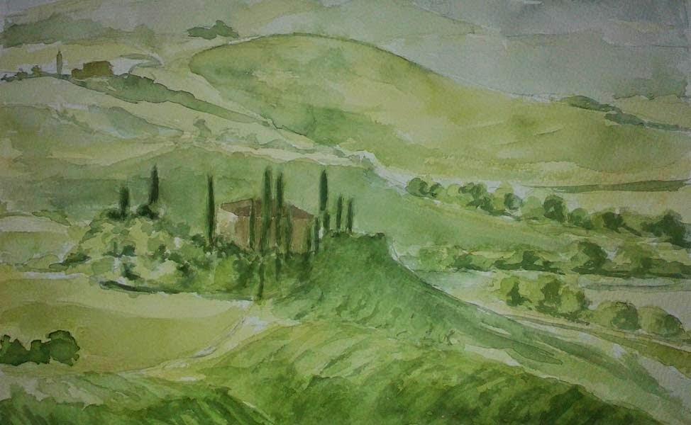 paisaje toscano
