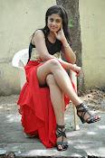 Meghasri glamorous photos in red-thumbnail-6