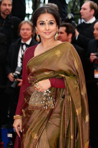 Vidya Balan at 'Bombay Talkies' Premiere at Cannes Film Festival